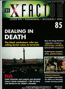 THE X FACTOR Paranormal Science Magazine Issue 85 - Dealing in Death