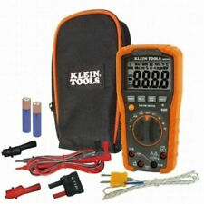 Klein Tool Mm600 Digital Multimeter Auto Ranging 1000v Nib Amp Free Shipping