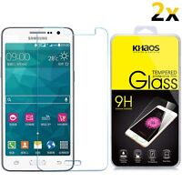 [2-Pack] KHAOS For Samsung Galaxy J2 Prime HD Tempered Glass Screen Protector