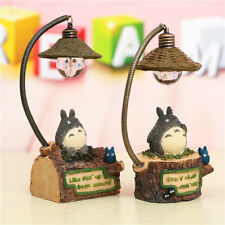 Night Nighting Lamp LED Night Table Decoration My Neighbor Totoro Resin Crafts
