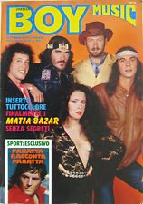 BOY MUSIC 49 1980 Matia Bazar Passengers George Benson Amedeo Minghi Decibel