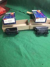 HO Scale Roundhouse 2 Black Orr Cars Nice  (HO62624)