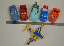 2 ) Disney Pixar Cars Set 6 verschiedene Cars Autos - Flugzeug aus Metall