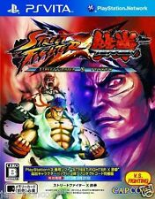 Used PS Vita STREET FIGHTER X TEKKEN  SONY PLAYSTATION JAPANESE IMPORT