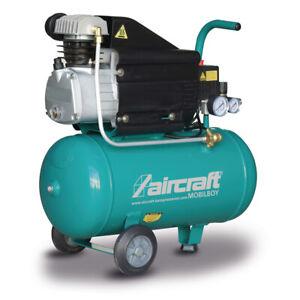 Kompressor Druckluft Kompressor 8 bar 24 L  MOBILBOY 241/24 AC ÖL geschmiert