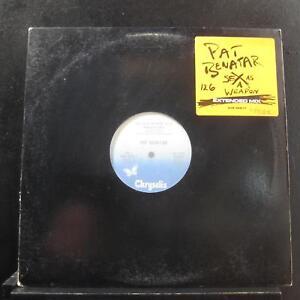 "Pat Benatar - Sex As A Weapon 12"" VG+ 4V9 42917 Chrysalis Promo Vinyl Record"