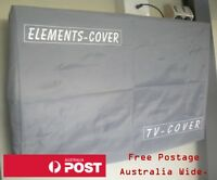 Outdoor TV Cover. 29 - 30 inch screens. 76cm wide by 46cm high. Waterproof cover