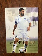 2011 Unique Futera Soccer Card - Greece KARAGOUNIS Mint