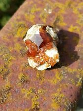 Garnet Crystal Cluster on Matrix - Bishop, California