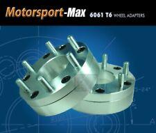 2 Wheel Adapters 8x170 To 6x5.5 | 6 Lug Chevy Toyota Wheel on Ford SuperDuty Hub