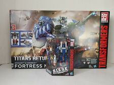 Transformers Titans Return Fortress Maximus Titan Class with Cog SEALED!!