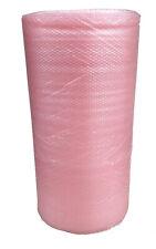 antistatische Luftpolsterfolie 100 cm x 100m Noppenfolie Farbe Rosa