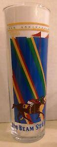 1989 Jim Beam Stakes Souvenir Glass, Turfway Park, Winner: Western Playboy