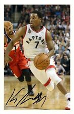 KYLE LOWRY - TORONTO RAPTORS AUTOGRAPHED SIGNED A4 PP POSTER PHOTO