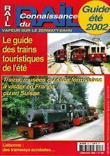 CONNAISSANCE DU RAIL - n° 248 - Juillet - Août 2002 - (chemin de fer, train)