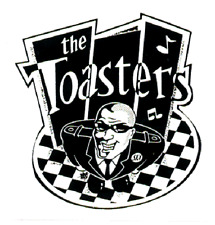 13116 The Toasters Retro Face Rude Boy Checkers Ska Punk Rock Sticker / Decal