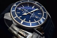 REDUCED Breitling SuperOcean Heritage 46 Blue Dial Automatic Men's Watch A17320