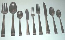Vera Wang Wedgwood WITH LOVE 44 Piece Stainless Flatware Service for 8 NEW