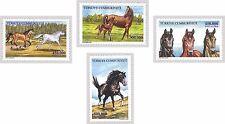 TURKEY 2001, HORSES, ANIMALS, MNH