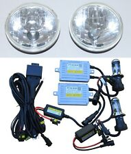 Headlights for Toyota Landcruiser 40 60 75 78 79 series with 70W HID Hi/Lo KIT