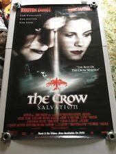 The Crow Salvation Movie Poster - Used - RARE