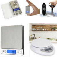 Electronic Pocket Digital LCD Weighing Scales Food Jewellery Kitchen 0.01g-500g