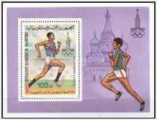 Timbre Sports Athlétisme JO Mauritanie BF25 * lot 8806