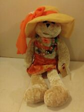 """CHANTILLY LANE MUSICAL BEAR 22"""" long SINGS """"DON'T WORRY BABY"""" BY THE BEACH BOYS"""