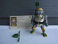 Vintage TMNT Metalhead  W File Card Ninja Turtles Action Figure