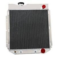 ASI 4ROW Aluminum Radiator FOR FORD MUSTANG V8 260 289 1964 1965-1967 AT/MT