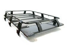 Expedition Steel 1.8m Full Basket Roof Rack in Black for Jeep Cherokee 1984-2001