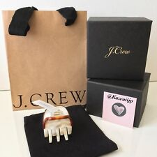 J Crew MEDIUM IVORY CLAW HAIR CLIP (MADE IN FRANCE) RARE Last One