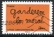 TIMBRE FRANCE AUTOADHESIF OBLITERE N° 619 / SOURIRES PAR L'HUMORISTE  BEN