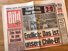 Bildzeitung 12. April 1962 BILD Zeitung 12.04.1962 * 56. 57. 58. Geburtstag