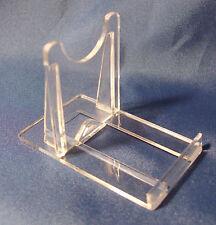 20 x due parte Perspex Twist Display Stand, ideale per DVD, CD, BOOK, telefoni cellulari