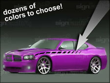 06 07 08 09 2010 Dodge Charger Front Stripe Decal Vinyl graphics