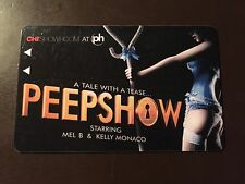 "Planet Hollywood Casino- Las Vegas ""Peepshow"" collectors hotel room key card"