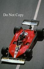Gilles Villeneuve Ferrari 312 T3 Monaco Grand Prix 1978 Photograph 1