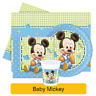 Disney BABY MICKEY Mouse Birthday Party Range Tableware Supplies Decorations(1C)