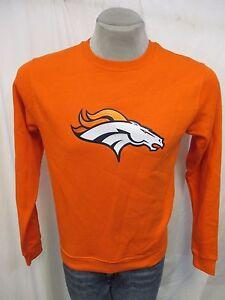 Denver Broncos '#18 Peyton Manning' NFL Men's Crew Neck Sweatshirt