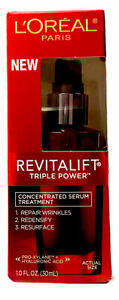 L'oreal Revitalift Triple Power Concentrated Serum Treatment - 1.0 fl oz