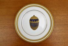 Faberge Gilded Salad Plate - The Pine Cone Egg - Japan Exc