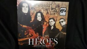 Heroes Del Silencio: Héroes: Silencio y Rock & Roll (2LP+2CD) mit Coverschaden