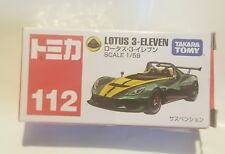 Takara Tomy Green Lotus 3 Eleven #112 Scale 1/59 Die-cast Brand New [P153]