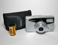 Rare Panasonic C-D3100ZM 35mm AF Film Camera w. Case & Kodak Gold - Film Tested