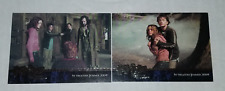 """2004 ARTBOX """"HARRY POTTER"""" PROMO TRADING CARDs [P2 & P3] - V/GOOD CONDITION"""