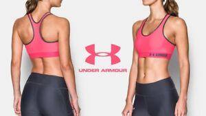 $24.99 Under Armour HeatGear Armour Women's Sports Bra - XS