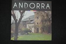 Andorre 3,88 Euro, Série de Monnaie Légale 1 Cent - 2 Pièce Bu 60299
