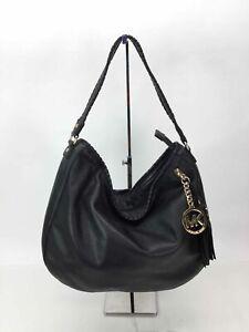 MICHAEL Michael Kors Black Whipstitch Handbag
