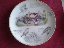 Plates/Spoons Ceramic/Pottery Garden Bird Collectables